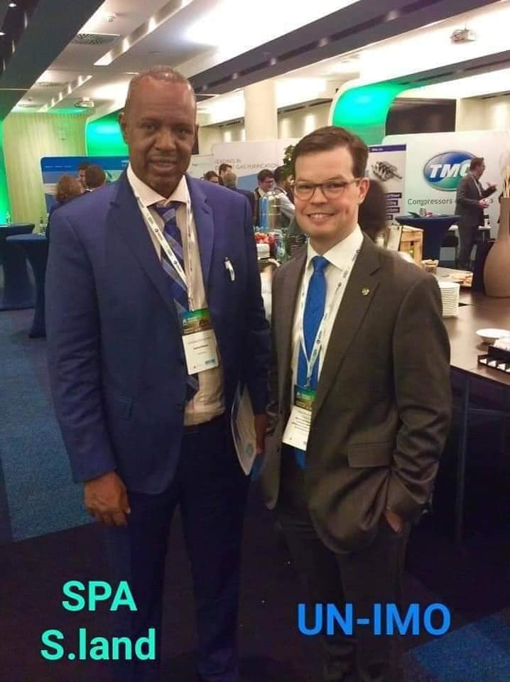 "Somaliland port authority manager Saed Hassan Abdillahi has participated international port conferences organized by United Nations held in Germany- Hamburg after received official invitation""Ismail Lugweyne"