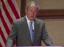 Madaxweynihii hore ee dalka Mareykanka George W Bush ayaa amaanay saameynta ay dadka soo galootiga ah ku leeyihiin waddankiisa