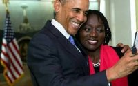 Gabadh Ay Walaalo Yihiin Madaxweyne Obama Oo Hargeysa Soo Gaadhey