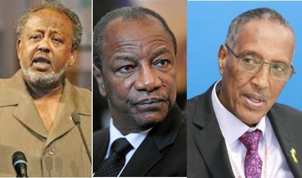 Madaxweynaha Dalka Guinea Oo Madaxweyne Geelaha Djibouti Uga Mahadceliyay Wada Hadalada Somaliland Iyo Soomaaliya