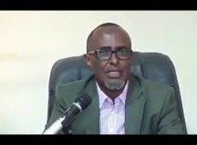 Qudbadii Ciro iyo Faysal Way baalmartay Jamaahiirta Somaliland waxay Soo Dhaweeyeen e Furida Ururada Siyaasada, Xildhiban Maxamed jaamac