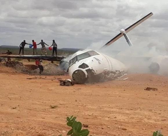 War-Degdega:Diyaarad Goor dhaweyd ku Burburtay Somalia+Agabkay Siday & Xoggo kale oo xasaasiya