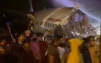 Diyaaradda Air India oo labo qeybood u kala go'day iyadoo wadda 191 qof