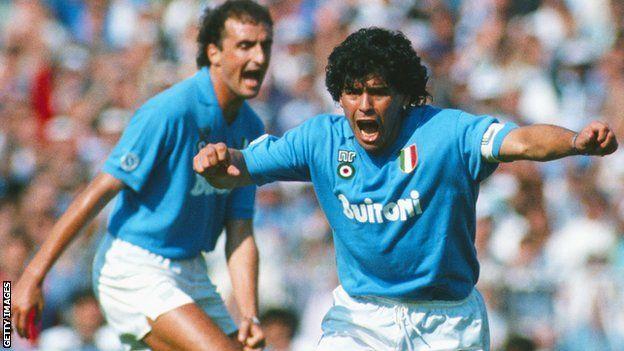 Waayihii kubadda cagta ee ciyaaryahankii caanka ahaa Diego Maradona