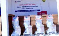 DP WORLD Berbera provides 15 ventilators to the Somaliland Ministry of Health to battle COVID-19
